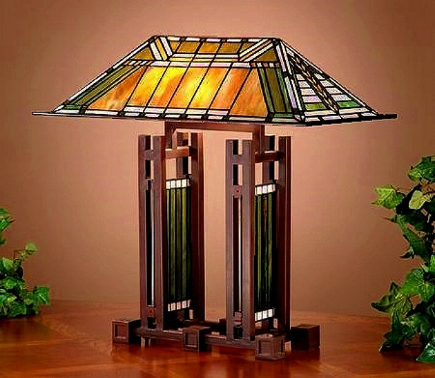 Table lamps mission lamps tiffany lamps stained glass aloadofball Images