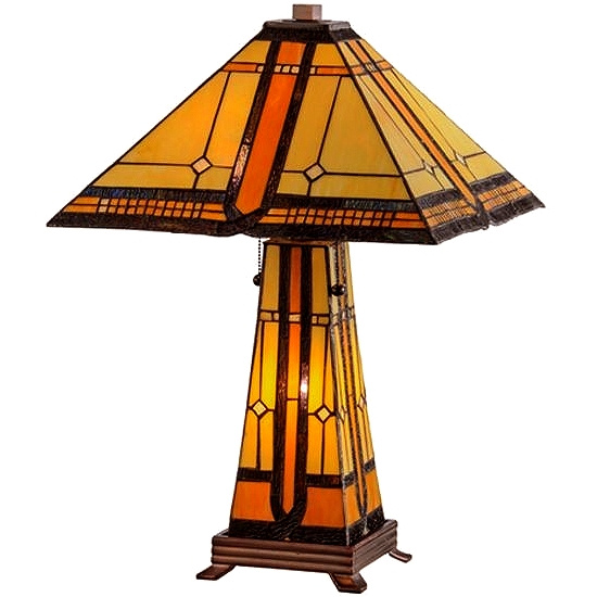 Table Lamps Mission Tiffany