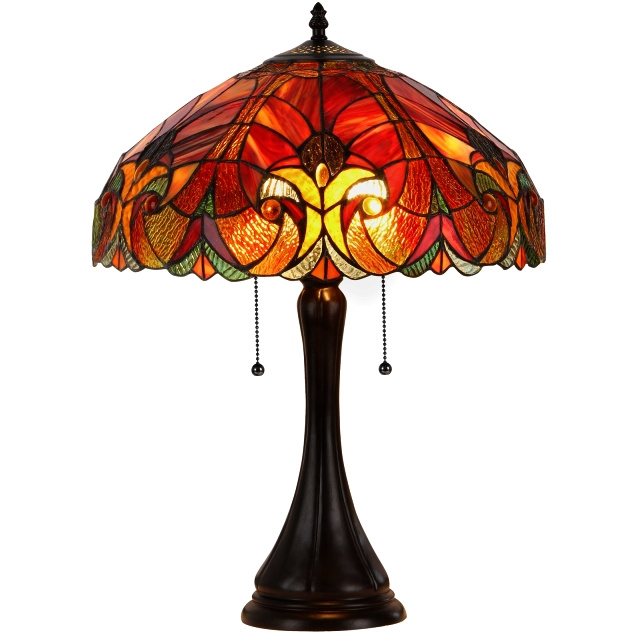 tiffany style antique stained glass lamp shades for glass table lamp. Black Bedroom Furniture Sets. Home Design Ideas