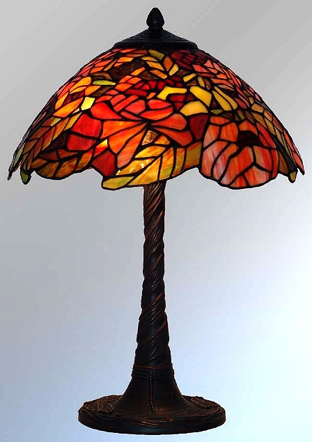mission tiffany lamps lighting stained glass arts crafts craftsman. Black Bedroom Furniture Sets. Home Design Ideas