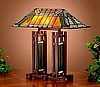 Frank Lloyd Wright Mission Style Table Lamp