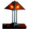 Mica Mission Four Column Table Lamp