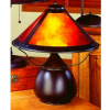 Mission Craftsman Rustic Mica Table Lamp