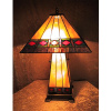 Mission Craftsman Table Tiffany Stained Glass Lamp